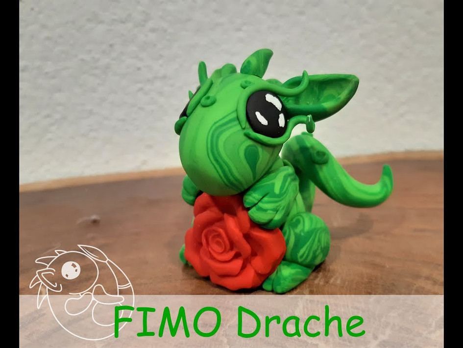 Anleitung Fimo Drache
