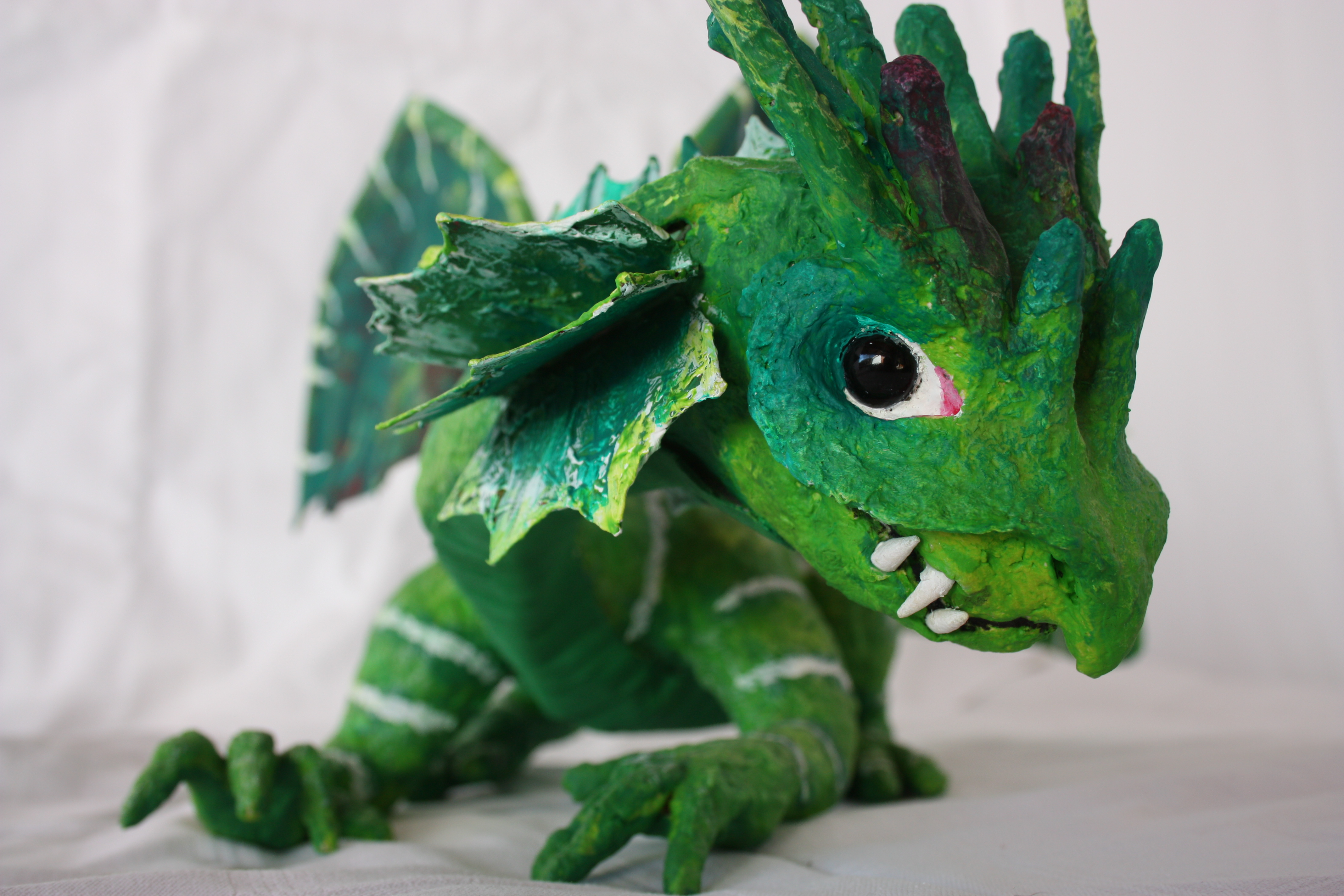 PAPPMACHÈ green dragon.JPG