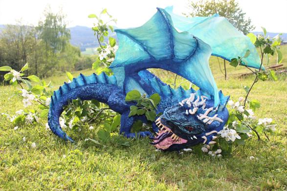 PAPPMACHÈ - blue nightmare