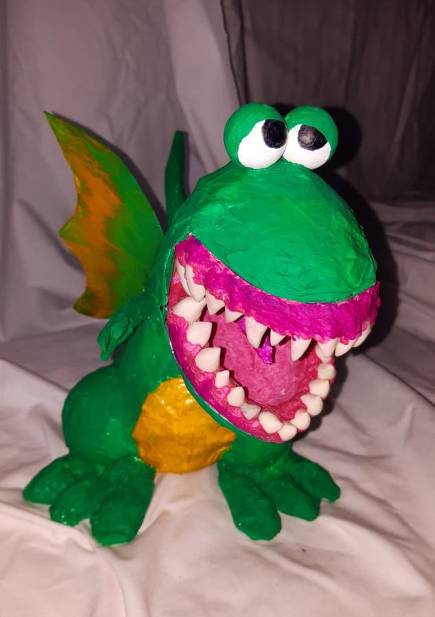 PAPPMACHÈ - Kinder Dino