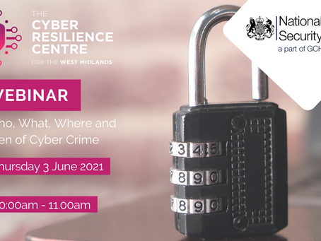 WEBINAR: The Who, What, Where, When and Why of Cybercrime
