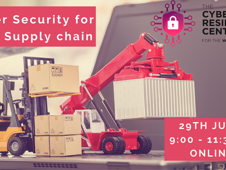 EVENT: Cyber Security for your Supply Chain Conference