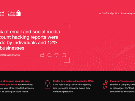 Email and Social Media hacks cost businesses £3.8 Million in the last 12 months