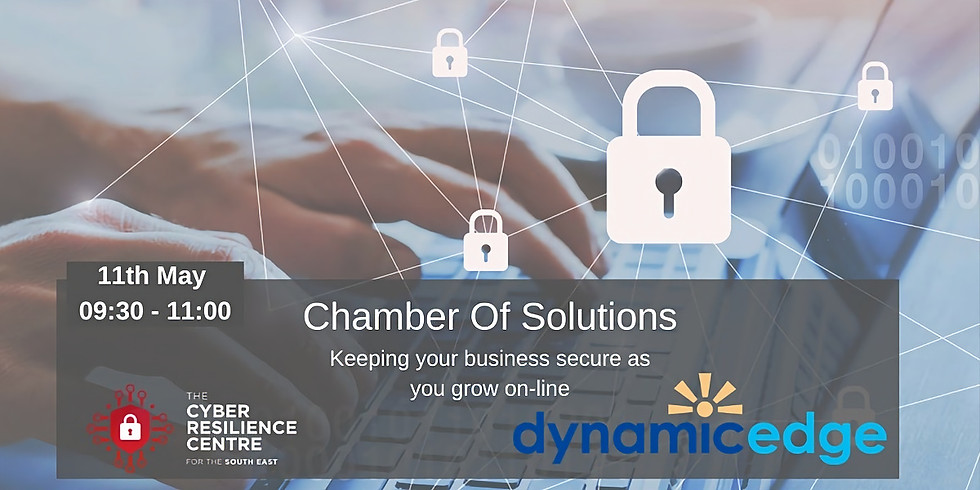 Keeping your business secure online with Hampshire Chamber of Commerce