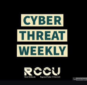 WMCRC features on first Cyber Threat Weekly Podcast with West Midlands RCCU