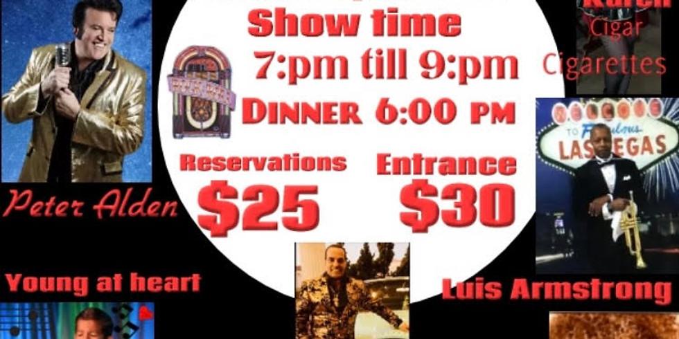 50s & 60s Tribute Dinner Show
