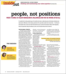People, Not Positions