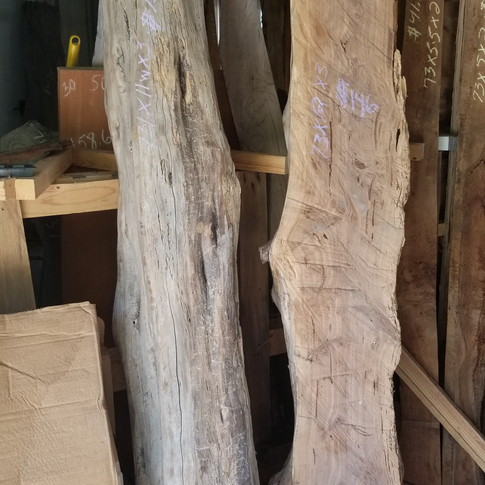 Live Edge Large Slabs