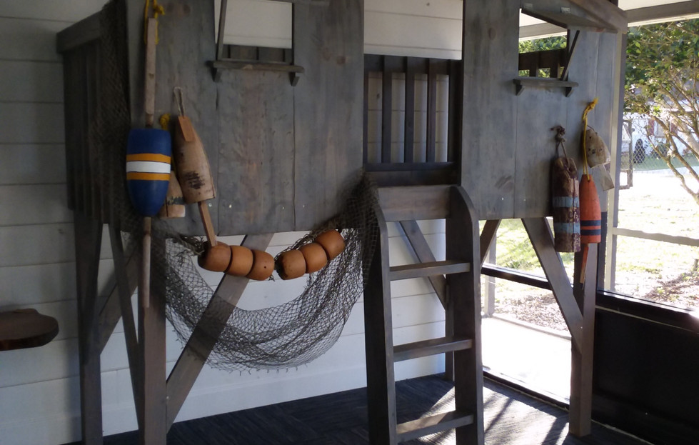 Fishing Camp Bunk Bed 2