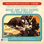 """Album cover for """"What are they doing to that Piano?"""""""