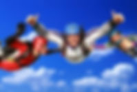 Photo of a first Accelerated Freefall skydive