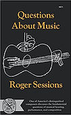 "Book cover for ""Questions abou Music"" by Roger Sessions"