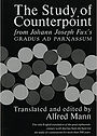 """Cover of book """"The Study of Counterpoint from Johann Joseph Fux's Gradus ad Parnassum"""""""