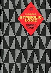 Book cover for Susanne Langer's Introduction to Symbolic Logic