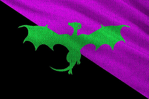 Smarlands Flag Allentria Shivnath from Dragon Speaker book 1 of The Shadow War Saga by Elana A. Mugdan