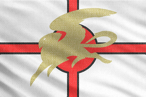 Erastate Flag Allentria from Dragon Speaker book 1 of The Shadow War Saga by Elana A. Mugdan