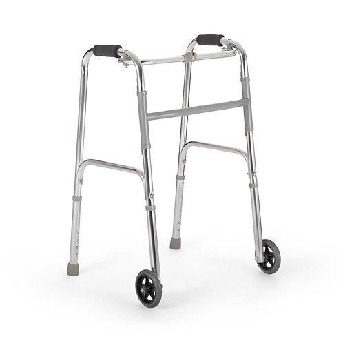 Ходунки шагающие FS 9125 L с колесами