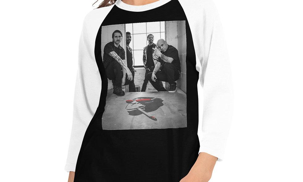 AudioMonkeys 3/4 sleeve raglan shirt #1