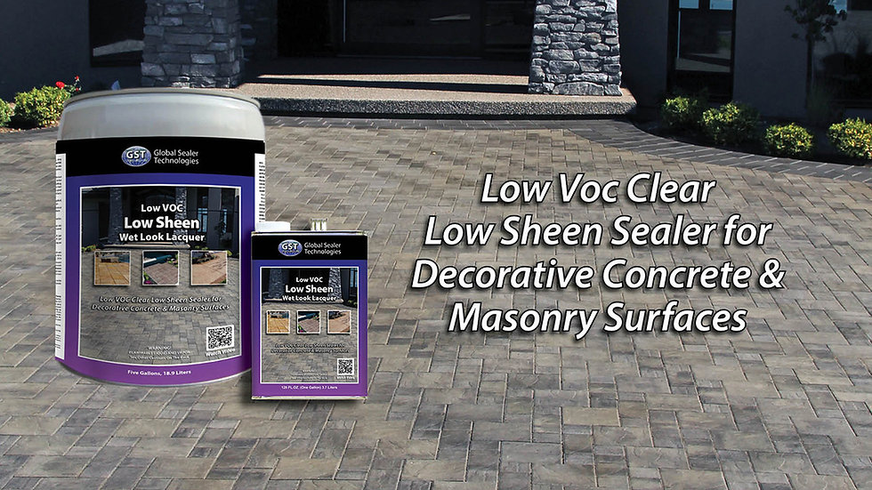 Low Sheen Wet Look Lacquer Low VOC