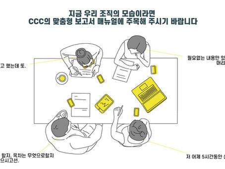 CCC의 맞춤형 보고서 매뉴얼 컨설팅