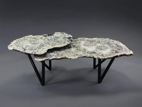 2 TIER SPLIT V LEG TABLE