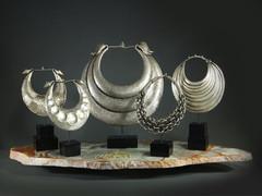 Miao Ceremonial Silver Necklaces