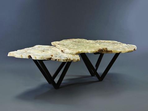 3 TIER V LEG TABLE