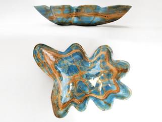 Argentine Blue Calcite Bowl