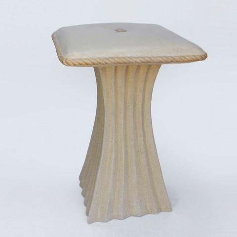 Pillow top stool