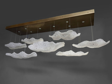 7 Cloud Chandelier