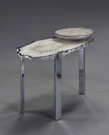 2 Tier C-clamp side table