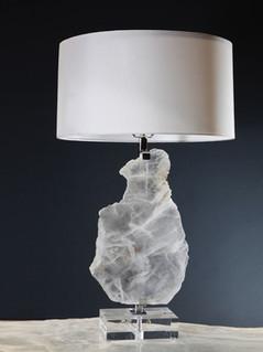 Floating Selenite Lamp