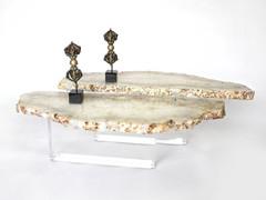 2 TIER ACRYLIC BASE TABLE