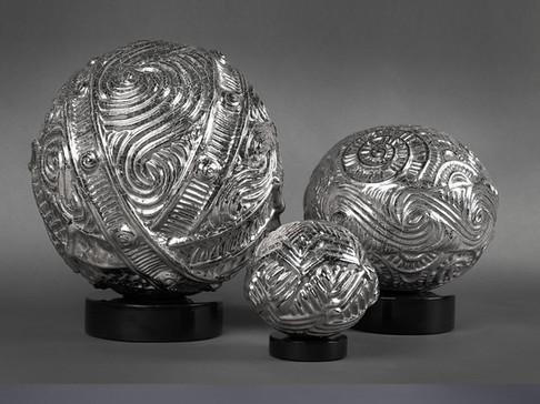Omnisphere Ceramic Sculptures