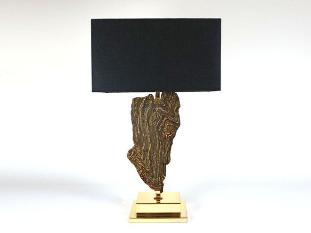 Tiger Iron Table Lamp