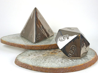 Ceramic D&D Dice