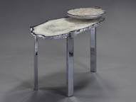 """2 TIER """"C"""" CLAMP SIDE TABLE"""