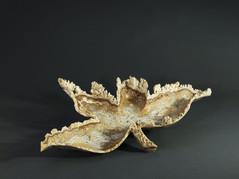 Natural Edged Onyx Leaf