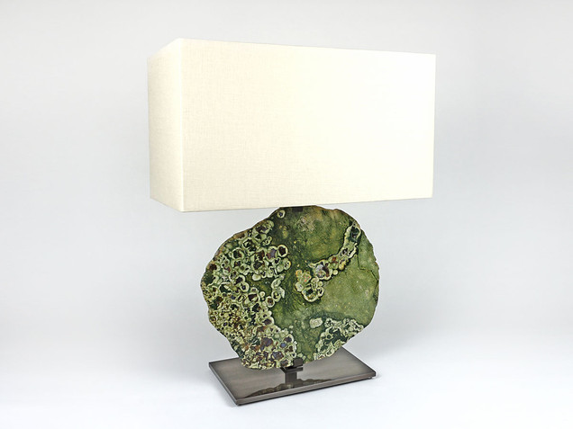 Rainforest Jasper Table Lamp