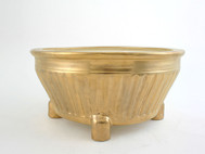 Large Round Footed Cache Pot