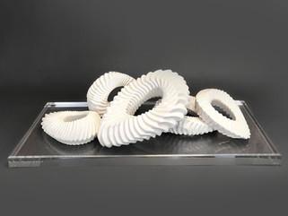 Ceramic Gears Centerpiece
