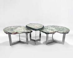 NESTED TRI-FOIL TABLES