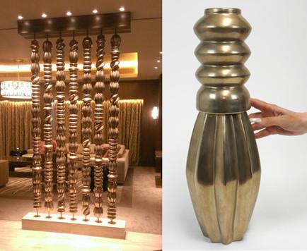 Ceramic Bead Room Divider