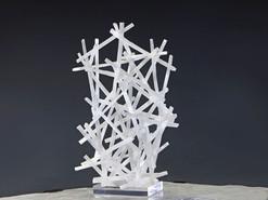 Pick Up Stix Sculpture