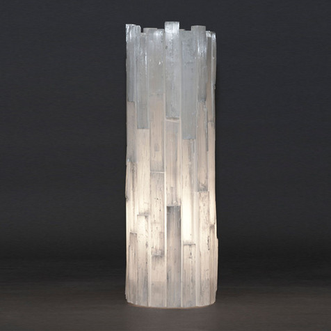 Selenite Torchiere