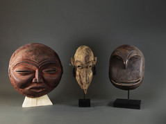 Large African Wood Masks