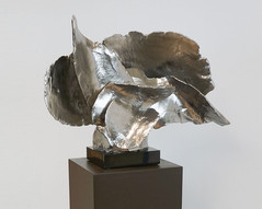 Ayers Wing sculpture with Pedestal