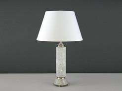 Cylinder Rock Crystal Lamp