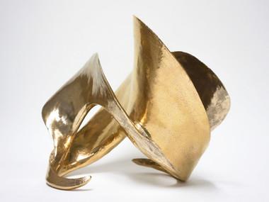 Coriolis ceramic sculpture