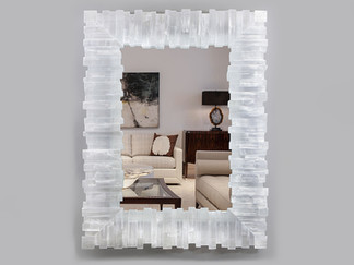 RECTANGLE TOOTHY MIRROR